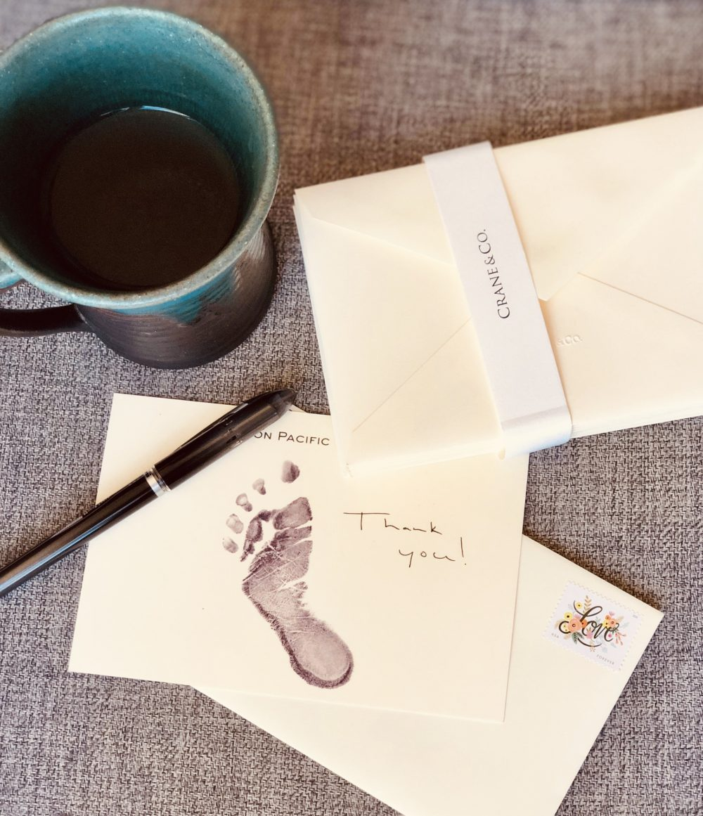 Best (and Easiest) Baby Thank You Notes – Raising Pacific